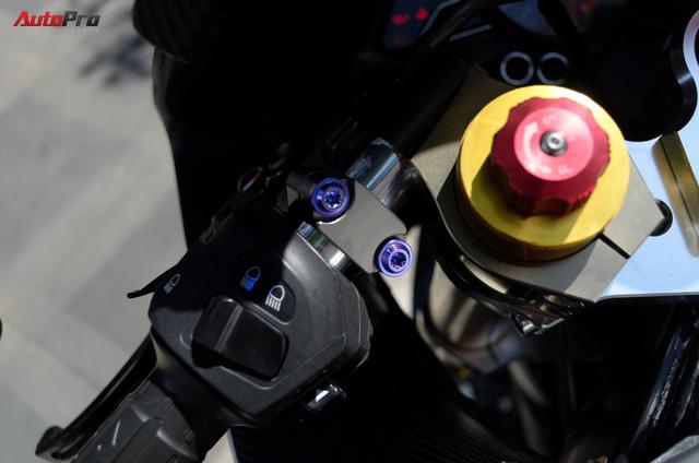 """Thợ Việt độ Bajaj Pulsar RS200 """"lên"""" Kawasaki Ninja H2R - Ảnh 7."""