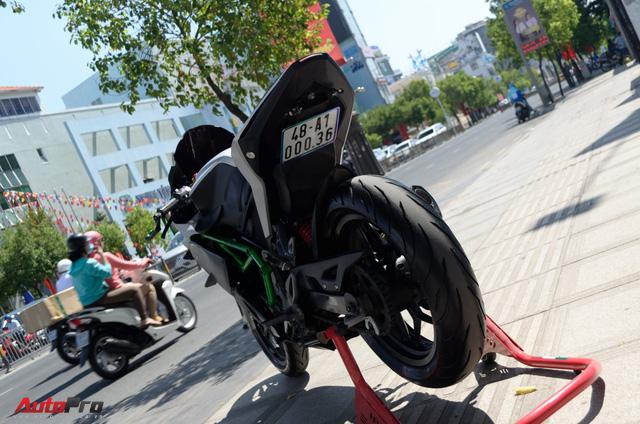 """Thợ Việt độ Bajaj Pulsar RS200 """"lên"""" Kawasaki Ninja H2R - Ảnh 10."""