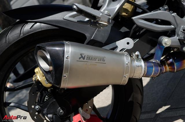 """Thợ Việt độ Bajaj Pulsar RS200 """"lên"""" Kawasaki Ninja H2R - Ảnh 9."""