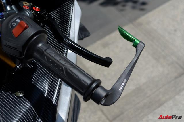 """Thợ Việt độ Bajaj Pulsar RS200 """"lên"""" Kawasaki Ninja H2R - Ảnh 6."""