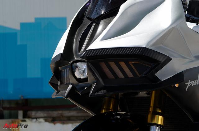 """Thợ Việt độ Bajaj Pulsar RS200 """"lên"""" Kawasaki Ninja H2R - Ảnh 5."""