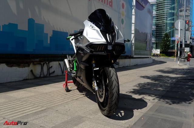 """Thợ Việt độ Bajaj Pulsar RS200 """"lên"""" Kawasaki Ninja H2R - Ảnh 4."""