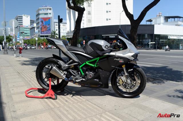 """Thợ Việt độ Bajaj Pulsar RS200 """"lên"""" Kawasaki Ninja H2R - Ảnh 3."""