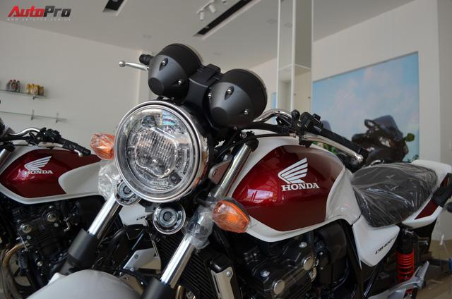 Chi tiết Honda CB400 Super Four bản đặc biệt tại Việt Nam, giá gần 400 triệu đồng - Ảnh 1.