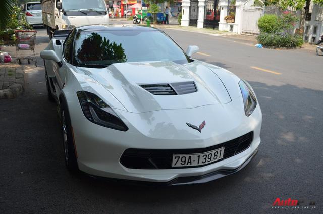 Nhìn lại chiếc Chevrolet Corvette C7 Z06 đầu tiên tại Việt Nam vừa xuất hiện tại Sài Gòn - Ảnh 2.
