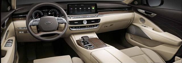 Chính thức ra mắt Kia K9 - Xe Hàn tham vọng chung mâm Mercedes-Benz S-Class - Ảnh 4.
