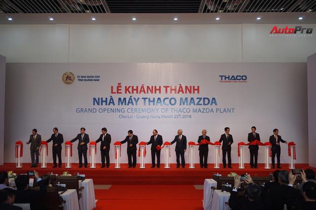 THACO khánh thành nhà máy Mazda lớn và hiện đại nhất Đông Nam Á - Ảnh 1.