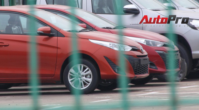 Toyota Yaris 2018 nhập khẩu từ Thái Lan đã có mặt tại Việt Nam - Ảnh 2.