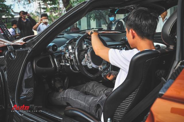 Minh Nhựa lại đem siêu xe Pagani Huayra đi bấm biển số - Ảnh 2.