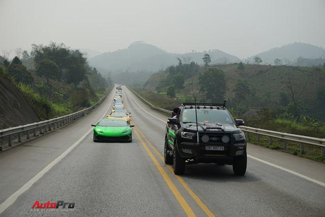 [Trực tiếp] Hành trình Car & Passion 2018: Đoàn siêu xe đã nghỉ chân tại khách sạn, sáng sớm mai sẽ về Hà Nội - Ảnh 19.