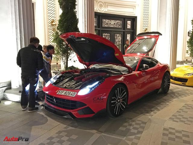 Ca sĩ Tuấn Hưng chăm sóc siêu xe Ferrari 488 GTB trong đêm trước ngày từ Sapa về Hà Nội - Ảnh 6.