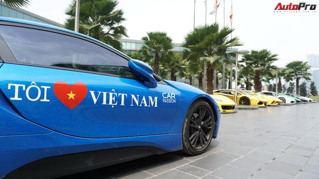 Bóng hồng duy nhất cầm lái BMW i8 tại hành trình siêu xe lớn nhất Việt Nam - Ảnh 3.