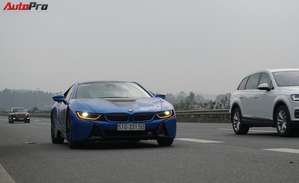 Bóng hồng duy nhất cầm lái BMW i8 tại hành trình siêu xe lớn nhất Việt Nam - Ảnh 6.