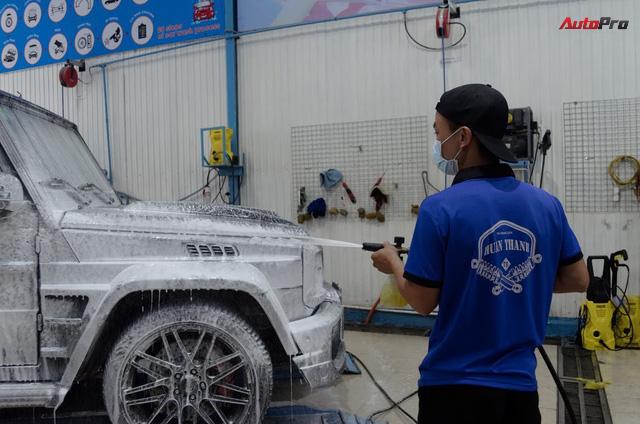 Siêu xe được chăm sóc thế nào sau 5 ngày Car & Passion 2018? - Ảnh 11.