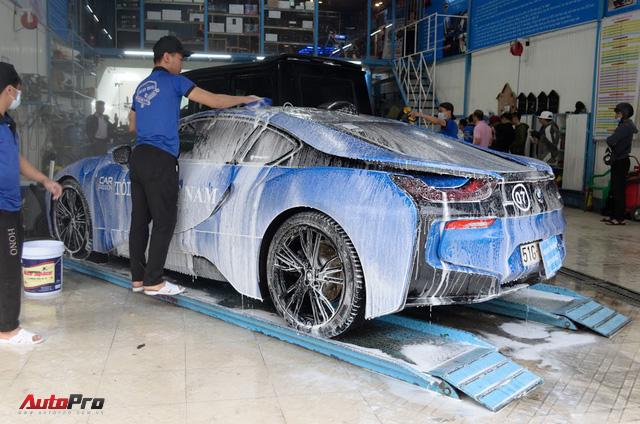 Siêu xe được chăm sóc thế nào sau 5 ngày Car & Passion 2018? - Ảnh 12.