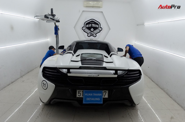 Siêu xe được chăm sóc thế nào sau 5 ngày Car & Passion 2018? - Ảnh 14.