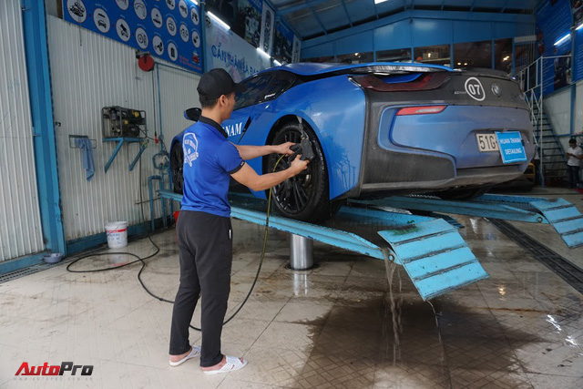 Siêu xe được chăm sóc thế nào sau 5 ngày Car & Passion 2018? - Ảnh 6.