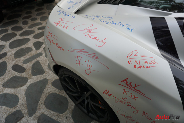 """Kết thúc Car & Passion 2018, McLaren 650S Spider của Cường đô-la """"xăm"""" dày đặc chữ ký - Ảnh 9."""
