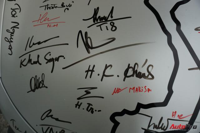 """Kết thúc Car & Passion 2018, McLaren 650S Spider của Cường đô-la """"xăm"""" dày đặc chữ ký - Ảnh 5."""