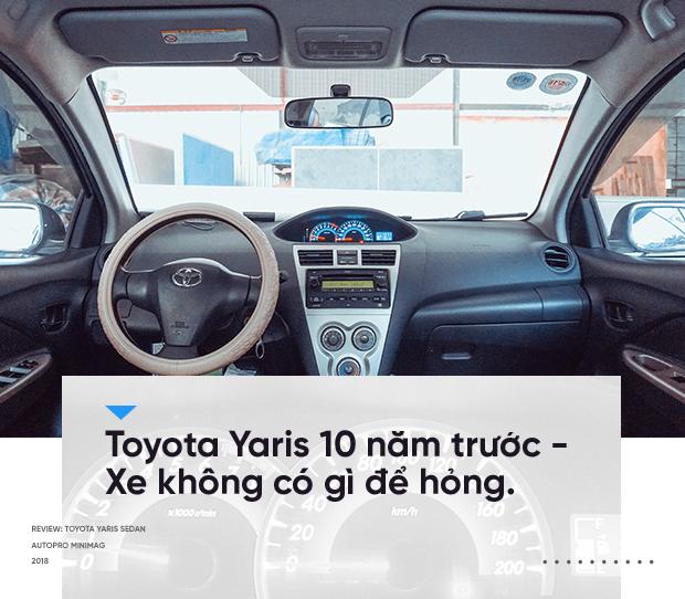 Người dùng Toyota Yaris sedan 10 năm chưa đổi xe: Chạy mãi không hỏng - Ảnh 10.