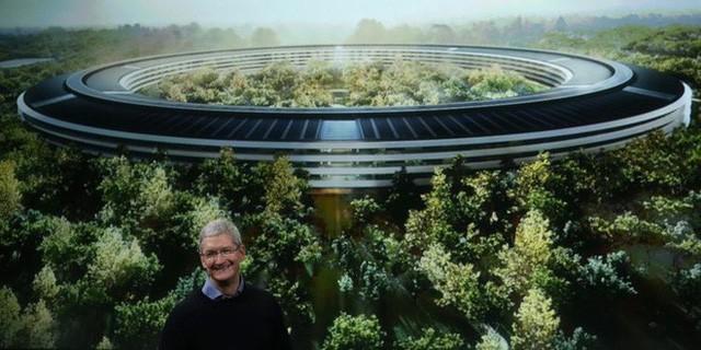 Khám phá bãi đỗ xe tại trụ sở mới trị giá 5 tỷ USD của Apple: Không khác gì một khu phố - Ảnh 1.