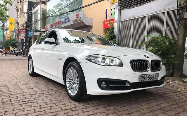 BMW 520i 2014 lăn bánh 40.000km bán lại giá 1,45 tỷ đồng tại Hà Nội - Ảnh 1.