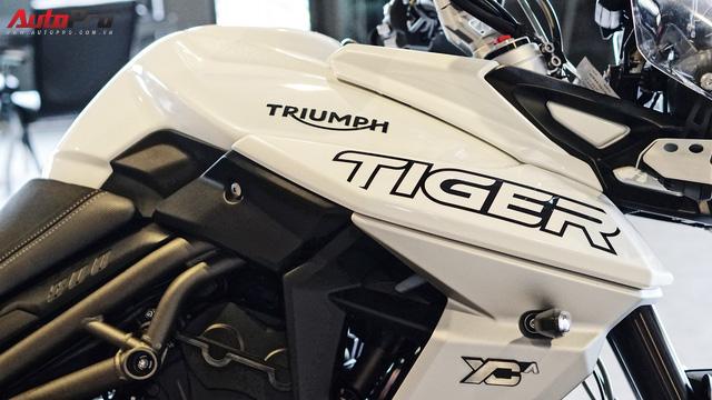 Triumph Tiger 800 XCa đầu tiên về Việt Nam với giá 660 triệu đồng: Đắt có xắt ra miếng? - Ảnh 17.