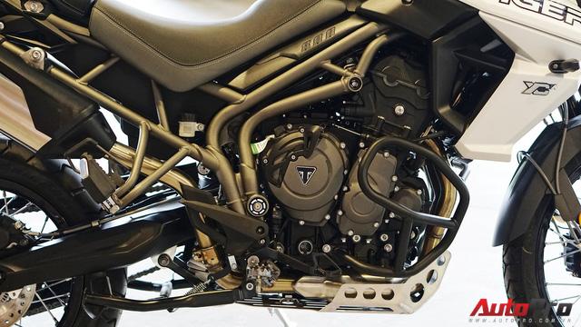 Triumph Tiger 800 XCa đầu tiên về Việt Nam với giá 660 triệu đồng: Đắt có xắt ra miếng? - Ảnh 6.