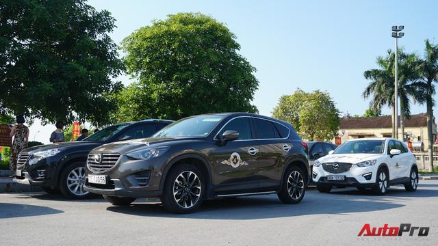 Hơn 20 xe Mazda CX-5 diễu hành tại Hà Nội mừng CLB sinh nhật 4 tuổi - Ảnh 2.