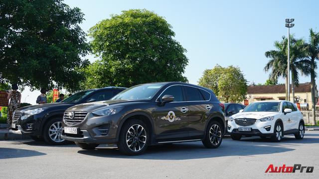 Hơn 20 xe Mazda CX-5 diễu hành tại Hà Nội mừng CLB sinh nhật 4 tuổi - Ảnh 5.