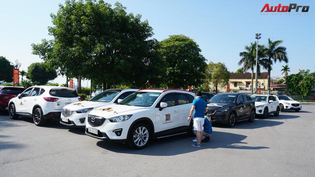 Hơn 20 xe Mazda CX-5 diễu hành tại Hà Nội mừng CLB sinh nhật 4 tuổi - Ảnh 6.