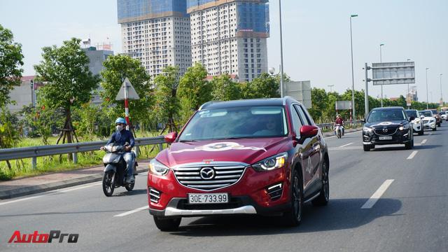 Hơn 20 xe Mazda CX-5 diễu hành tại Hà Nội mừng CLB sinh nhật 4 tuổi - Ảnh 7.