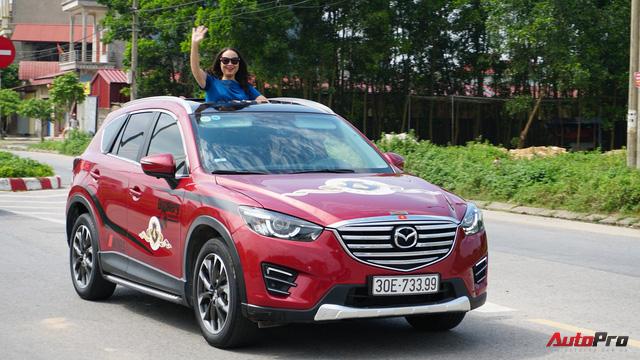Hơn 20 xe Mazda CX-5 diễu hành tại Hà Nội mừng CLB sinh nhật 4 tuổi - Ảnh 12.