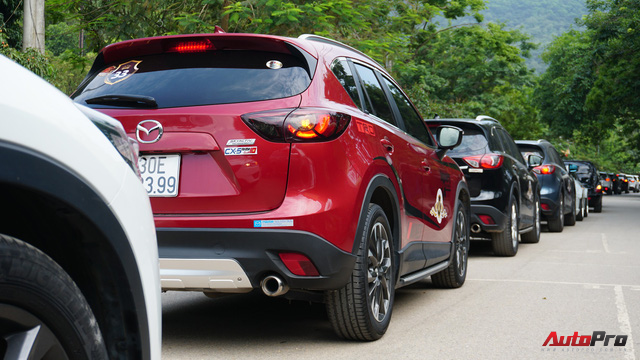 Hơn 20 xe Mazda CX-5 diễu hành tại Hà Nội mừng CLB sinh nhật 4 tuổi - Ảnh 13.