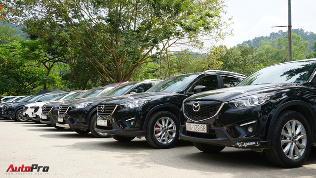 Hơn 20 xe Mazda CX-5 diễu hành tại Hà Nội mừng CLB sinh nhật 4 tuổi - Ảnh 14.