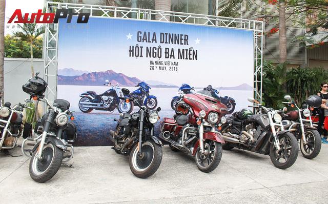 Hơn 100 xe Harley-Davidson bắt đầu khuấy động Đà Nẵng - Ảnh 2.