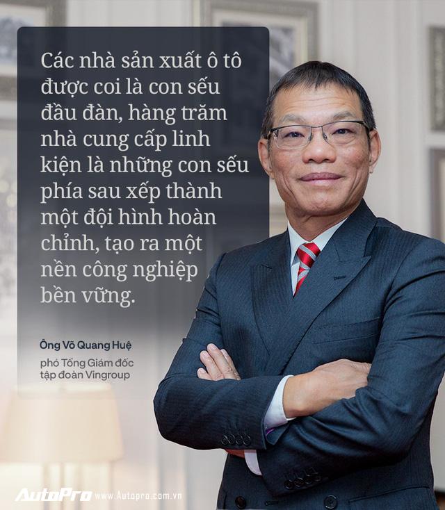 Chiến tướng VINFAST giải thích cách làm ô tô thương hiệu Việt - Ảnh 1.