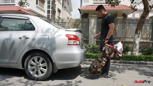 Dùng thử ô che nắng xe hơi - Giải pháp chống cháy cho mùa hè oi bức đã thực sự đến từ hôm nay - Ảnh 3.