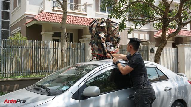 Dùng thử ô che nắng xe hơi - Giải pháp chống cháy cho mùa hè oi bức đã thực sự đến từ hôm nay - Ảnh 4.