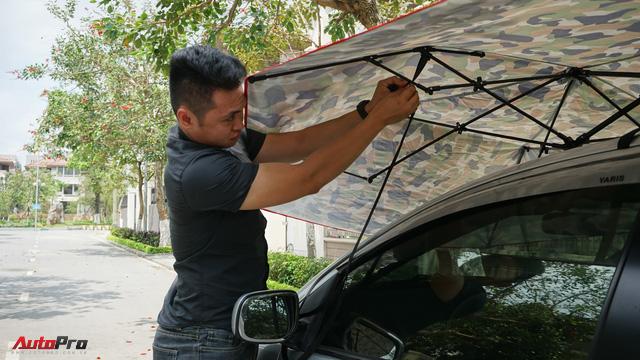 Dùng thử ô che nắng xe hơi - Giải pháp chống cháy cho mùa hè oi bức đã thực sự đến từ hôm nay - Ảnh 9.