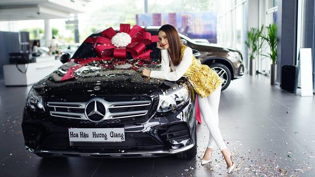 Hoa hậu Hương Giang mua Mercedes-Benz GLC 300 - Ảnh 3.