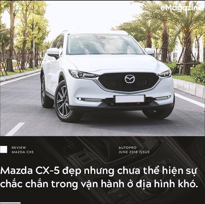 Đánh giá Mazda CX-5 sau khi lái toàn bộ các đối thủ: Xe hợp cho người lười - Ảnh 6.