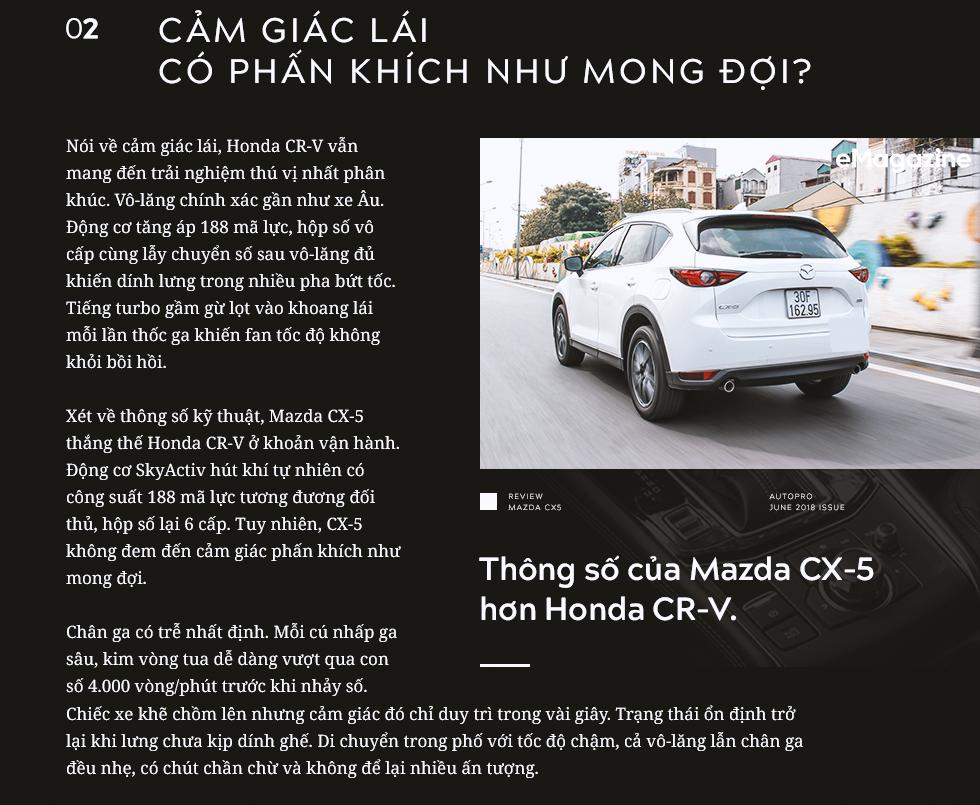 Đánh giá Mazda CX-5 sau khi lái toàn bộ các đối thủ: Xe hợp cho người lười - Ảnh 4.