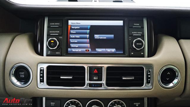 Range Rover Supercharged có giá chưa tới 2 tỷ đồng sau 4 vạn km - Ảnh 11.