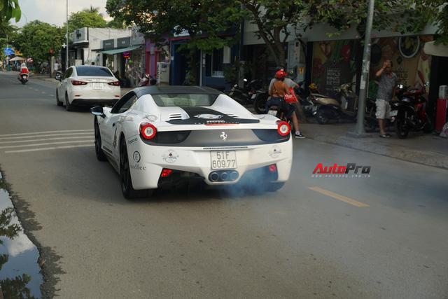 """Dàn siêu xe hàng độc của ông chủ Trung Nguyên """"nhá hàng"""" trên phố Sài Gòn trước roadshow - Ảnh 4."""