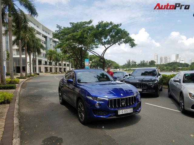 Offline kiểu đại gia: Mang dàn xe sang Maserati đi thưởng trà tại Sài Gòn - Ảnh 7.