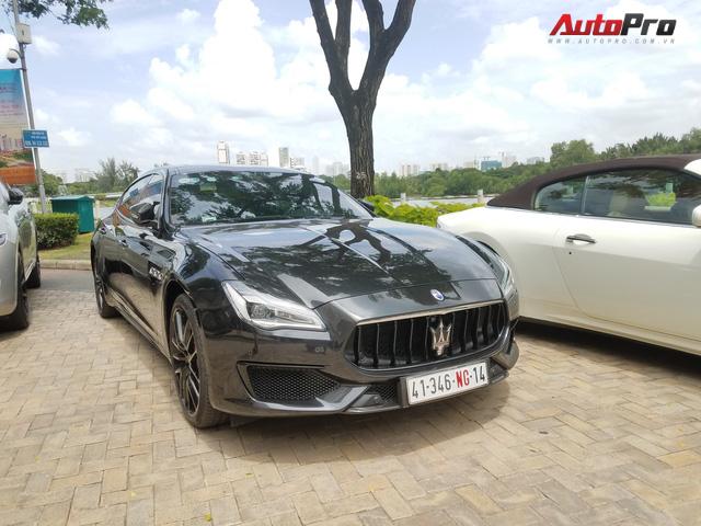 Offline kiểu đại gia: Mang dàn xe sang Maserati đi thưởng trà tại Sài Gòn - Ảnh 5.