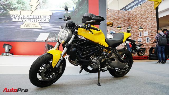 Cảm nhận nhanh Ducati Monster 821 2018 giá 400 triệu đồng - Ảnh 2.