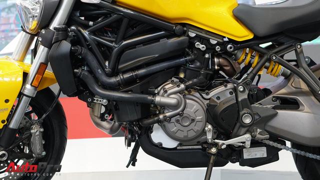 Cảm nhận nhanh Ducati Monster 821 2018 giá 400 triệu đồng - Ảnh 14.