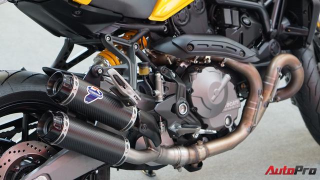 Cảm nhận nhanh Ducati Monster 821 2018 giá 400 triệu đồng - Ảnh 8.